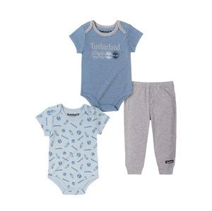 ISO Timberland Baby Boy 3 Piece Set